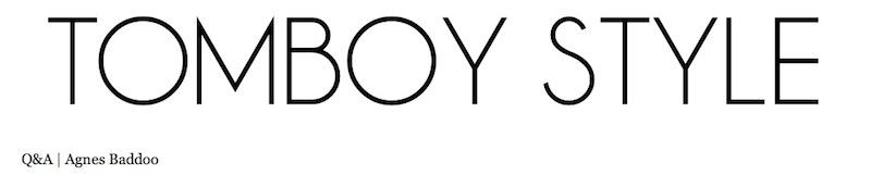 tomboy style X ab header
